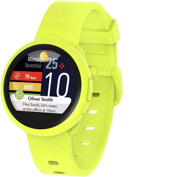 Dispositivi indossabili - MyKronoz ZeRound3 Lite Smartwatch Giallo -