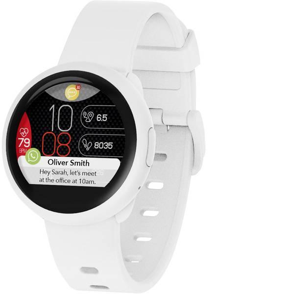 Dispositivi indossabili - MyKronoz ZeRound3 Lite Smartwatch Bianco -