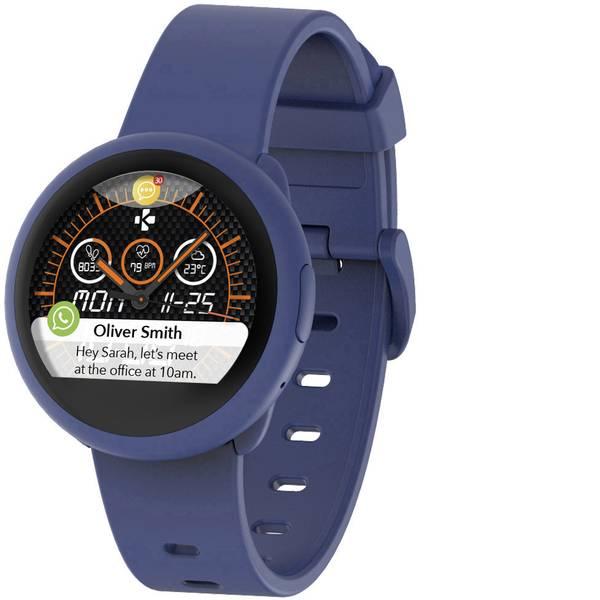 Dispositivi indossabili - MyKronoz ZeRound3 Lite Smartwatch Blu -