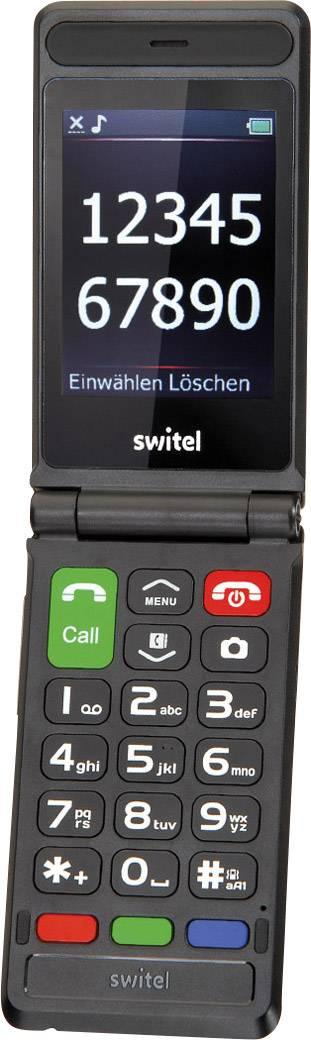 SwitelM228512 MB;2.8 pollici(7.1 cm ) SIM singola;2 MPixelNero