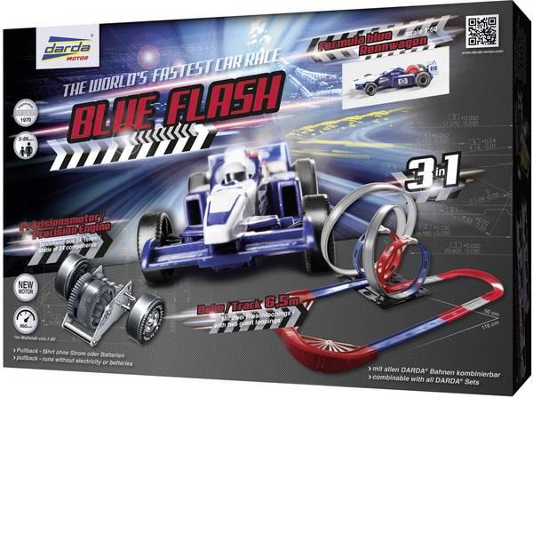 Auto a molla - Darda Rennbahn Blue Flash 50246 -