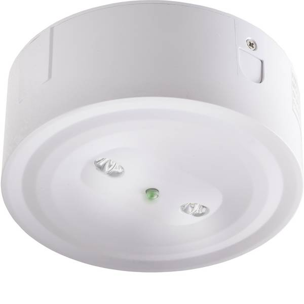 Segnaletica per uscite d`emergenza - ABB 7TCA091720R0193 Indicazione via di fuga illuminata a LED Montaggio a soffitto, Montaggio da incasso a soffitto -