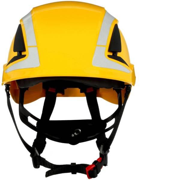 Caschi di protezione - Casco di protezione con sensore UV, riflettente, ventilato Giallo 3M X5002V-CE EN 397, EN 12492 -