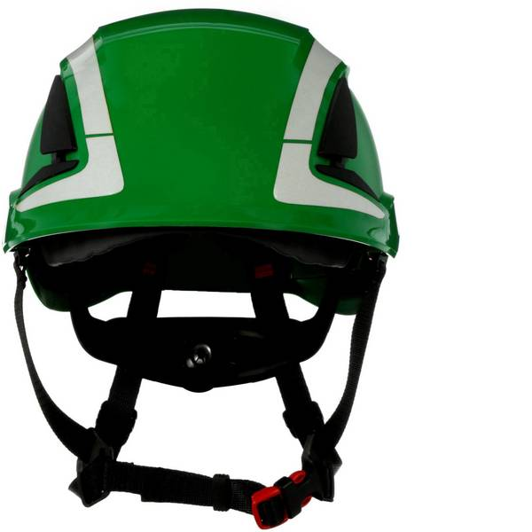 Caschi di protezione - Casco di protezione con sensore UV, riflettente, ventilato Verde 3M X5004V-CE EN 397, EN 12492 -