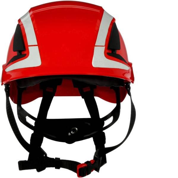 Caschi di protezione - Casco di protezione con sensore UV, riflettente, ventilato Rosso 3M X5005V-CE EN 397, EN 12492 -