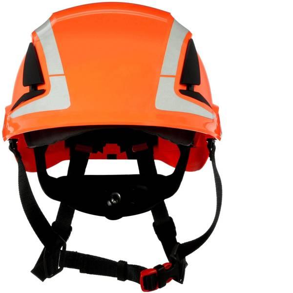 Caschi di protezione - Casco di protezione con sensore UV, riflettente, ventilato Arancione 3M X5007V-CE EN 397, EN 12492 -