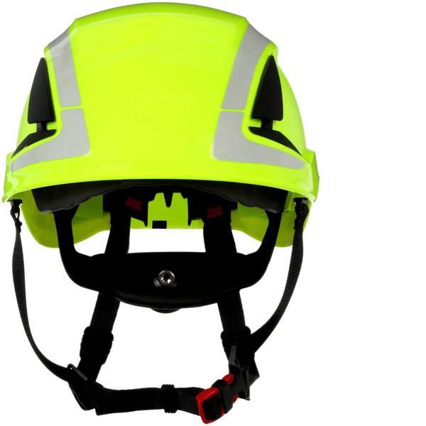 Caschi di protezione - Casco di protezione con sensore UV, riflettente, ventilato Verde Neon 3M X5014V-CE EN 397, EN 12492 -