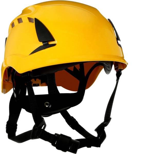 Caschi di protezione - Casco di protezione ventilato, con sensore UV Giallo 3M SecureFit X5002VE-CE EN 397, EN 12492, EN 50365 -
