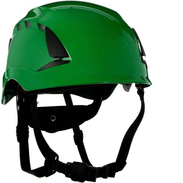Caschi di protezione - Casco di protezione ventilato, con sensore UV Verde 3M SecureFit X5004VE-CE EN 397, EN 12492, EN 50365 -