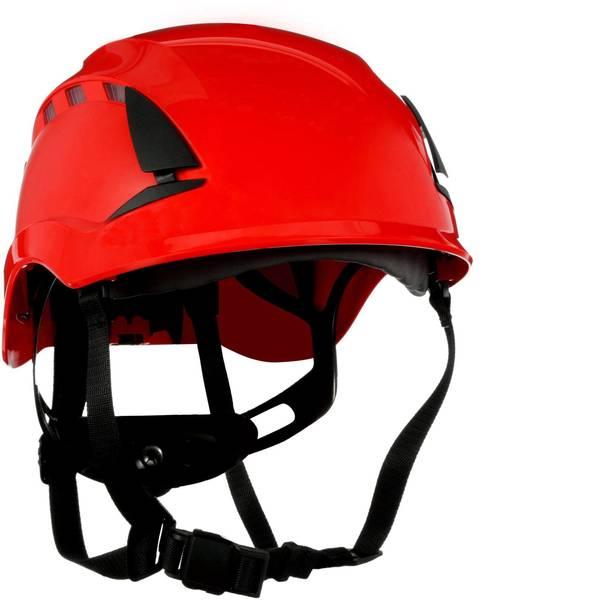 Caschi di protezione - Casco di protezione ventilato, con sensore UV Rosso 3M SecureFit X5005VE-CE EN 397, EN 12492, EN 50365 -