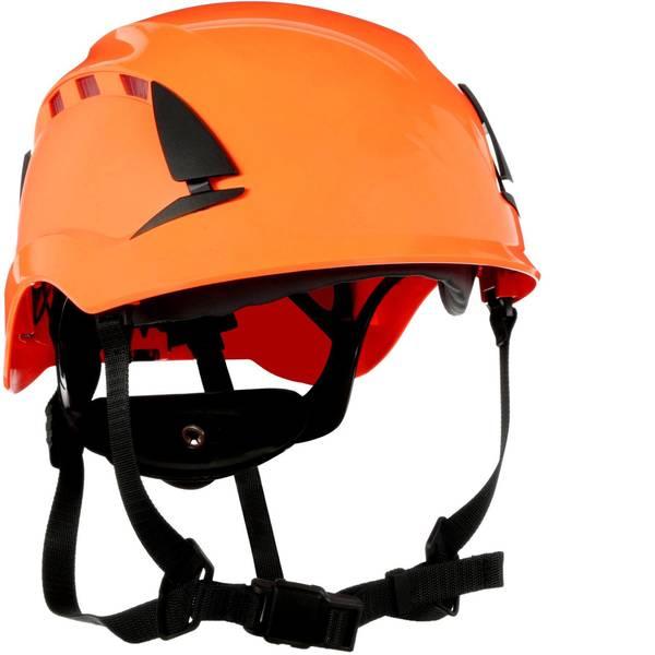 Caschi di protezione - Casco di protezione ventilato, con sensore UV Arancione 3M SecureFit X5007VE-CE EN 397, EN 12492, EN 50365 -