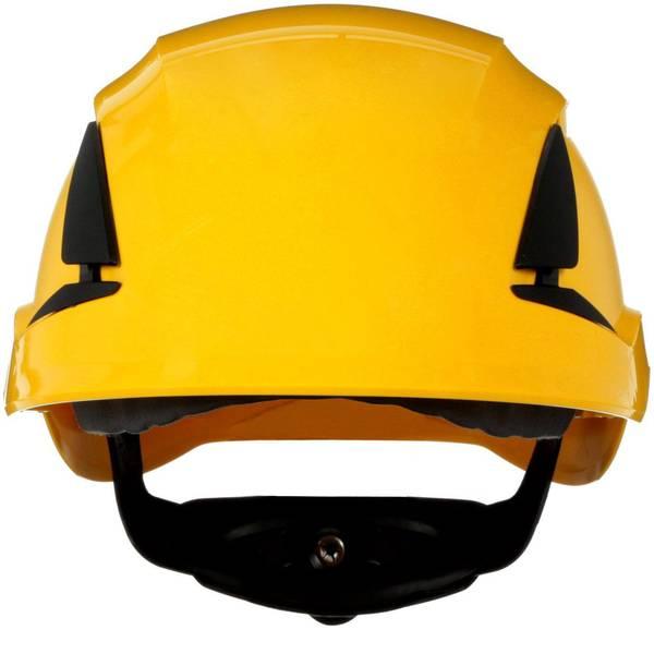 Caschi di protezione - Casco di protezione ventilato, con sensore UV Giallo 3M SecureFit X5502V-CE-4 EN 397 -