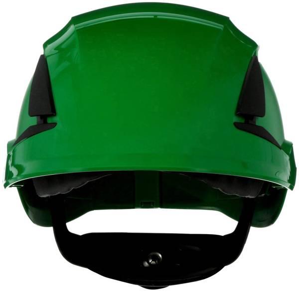 Caschi di protezione - Casco di protezione ventilato, con sensore UV Verde 3M SecureFit X5504V-CE-4 EN 397 -