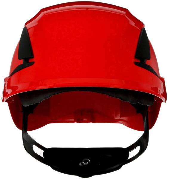 Caschi di protezione - Casco di protezione ventilato, con sensore UV Rosso 3M SecureFit X5505V-CE-4 EN 397 -