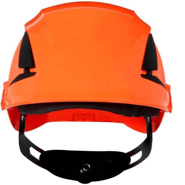 Caschi di protezione - Casco di protezione ventilato, con sensore UV Arancione 3M SecureFit X5507V-CE-4 EN 397 -