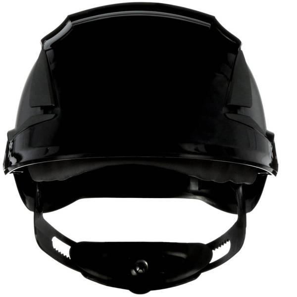 Caschi di protezione - Casco di protezione ventilato, con sensore UV Nero 3M SecureFit X5512V-CE-4 EN 397 -