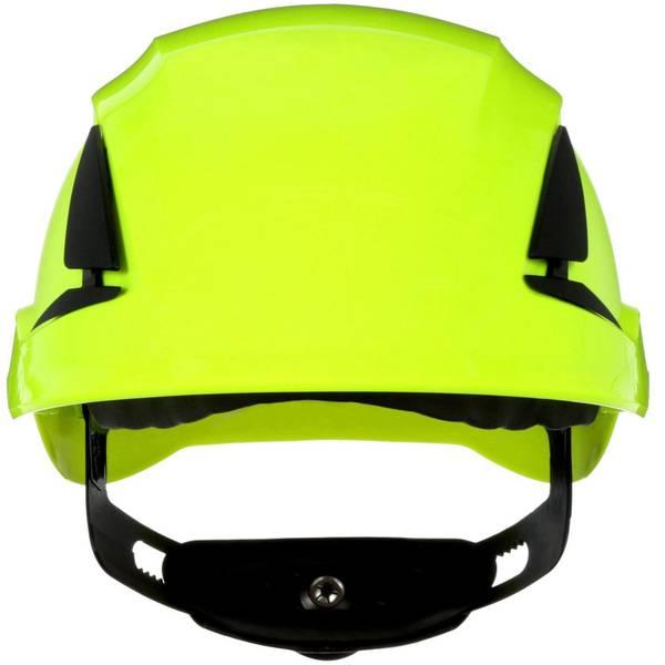 Caschi di protezione - Casco di protezione ventilato, con sensore UV Verde Neon 3M SecureFit X5514V-CE-4 EN 397 -