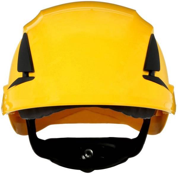 Caschi di protezione - Casco di protezione con sensore UV Giallo 3M SecureFit X5502NVE-CE-4 EN 397 -