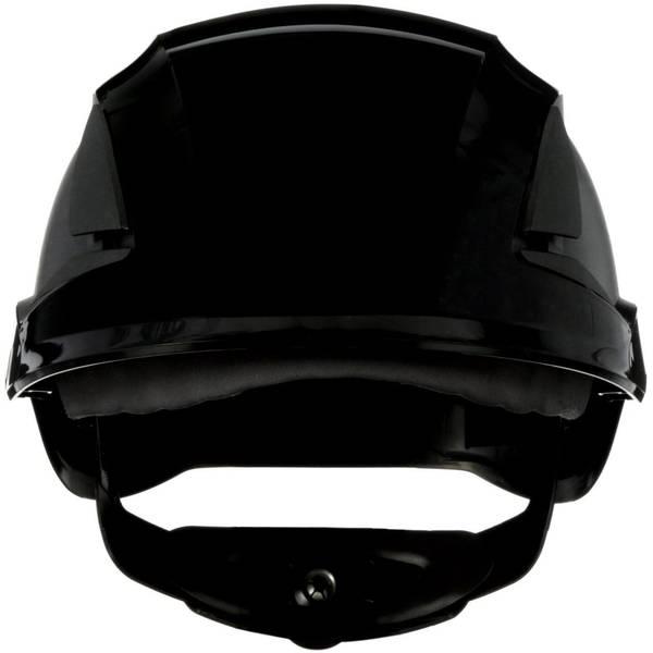 Caschi di protezione - Casco di protezione con sensore UV Nero 3M SecureFit X5512NVE-CE-4 EN 397 -