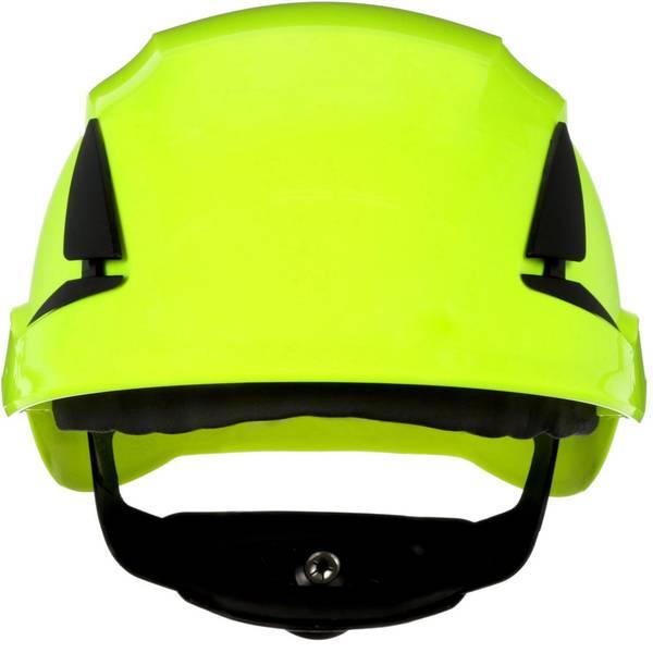 Caschi di protezione - Casco di protezione con sensore UV Verde Neon 3M SecureFit X5514NVE-CE-4 EN 397 -