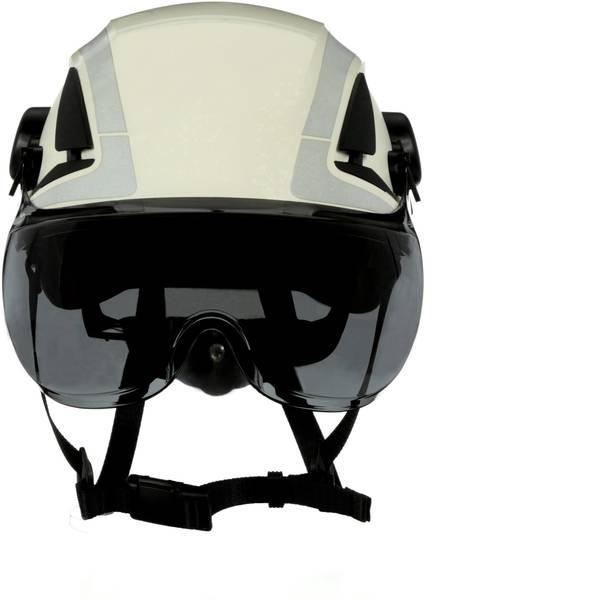 Schermi per la protezione del viso - 3M X5-SV02-CE Visiera di protezione incl. Protezione antiappannante Grigio -