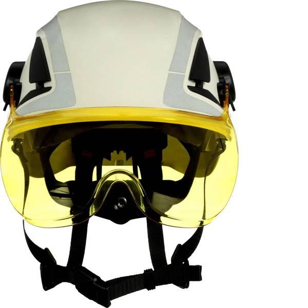 Schermi per la protezione del viso - 3M X5-SV03-CE Visiera di protezione incl. Protezione antiappannante Giallo -
