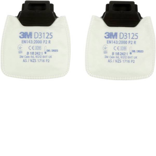 Filtri per protezione delle vie respiratorie - 3M D3125 2 pz. -