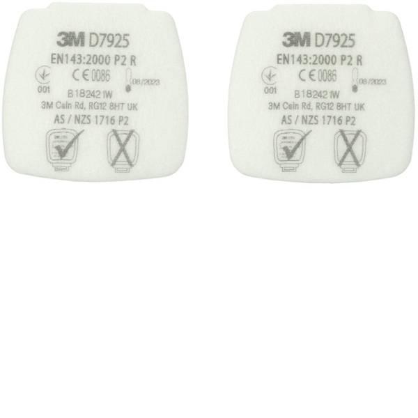 Filtri per protezione delle vie respiratorie - 3M D7925 4 pz. -