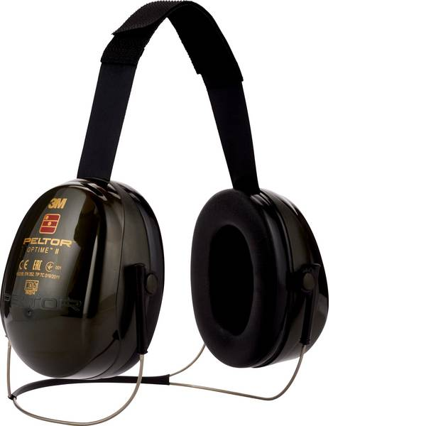Cuffie da lavoro - 3M Peltor Optime II H520B Cuffia antirumore passiva 31 dB 1 pz. -