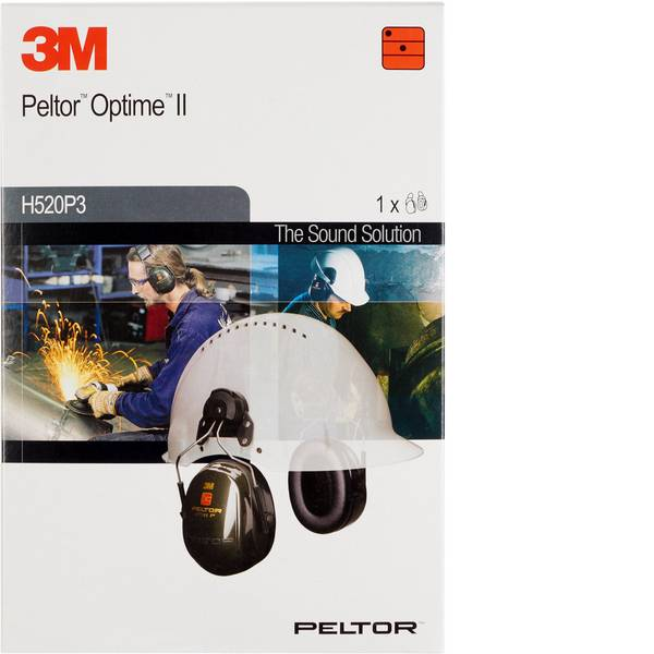 Cuffie da lavoro - 3M Peltor Optime II H520P3E Cuffia antirumore passiva 30 dB 1 pz. -