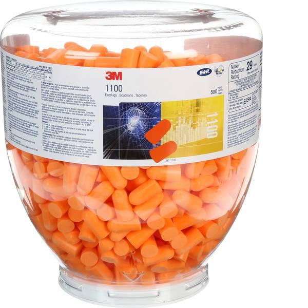 Tappi per la protezione dell`udito - 3M 1100B Confezione ricarica di tappi per le orecchie 37 dB usa e getta 500 Paia -