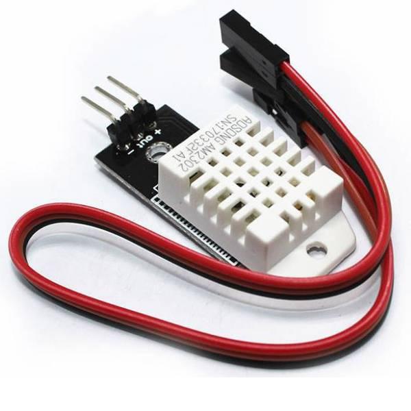Moduli e schede Breakout per schede di sviluppo - Joy-it SEN-DHT22 Sensore di temperatura 1 pz. Adatto per: Arduino, Asus, ASUS Tinker Board, Banana Pi, BeagleBoard,  -