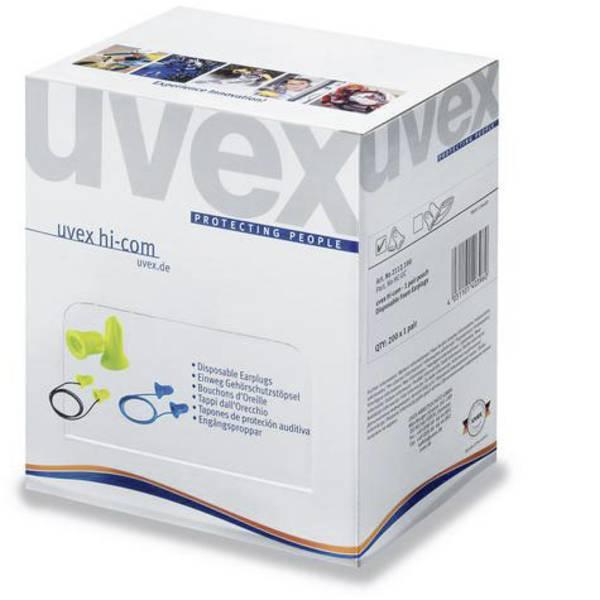 Tappi per la protezione dell`udito - Uvex 2112095 hi-com Mini Tappi per le orecchie 24 dB usa e getta 100 Paia -