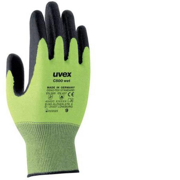 Guanti di protezione contro i tagli - Guanto di protezione dai tagli Taglia: 7 EN 388 , EN 407 Uvex C500 wet 6049207 1 Paio/a -