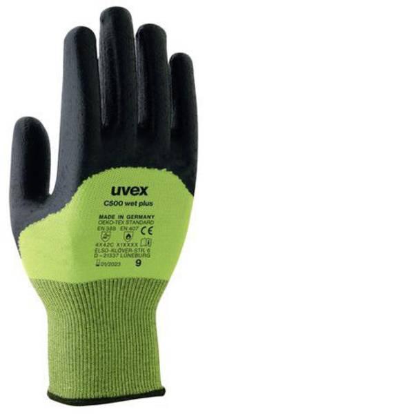 Guanti di protezione contro i tagli - Guanto di protezione dai tagli Taglia: 7 EN 388 Uvex C500 wet plus 6049607 1 Paio/a -