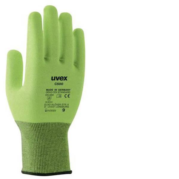 Guanti di protezione contro i tagli - Guanto di protezione dai tagli Taglia: 7 EN 388 Uvex 6049707 1 Paio/a -