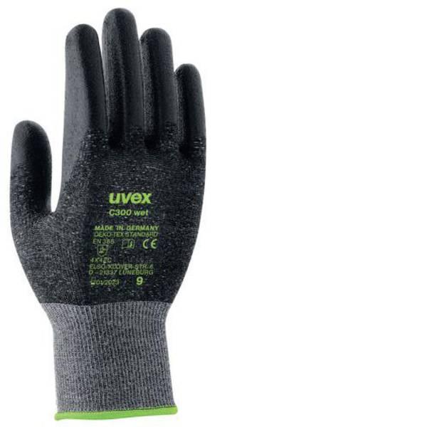 Guanti di protezione contro i tagli - Guanto di protezione dai tagli Taglia: 7 EN 388 Uvex C300 wet 6054207 1 Paio/a -