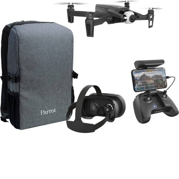 Quadricotteri e droni - Parrot Anafi FPV Quadricottero RtF Per foto e riprese aeree, First Person View (prima persona) -