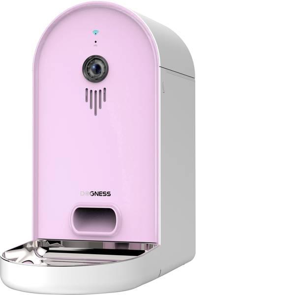 Prodotti per animali domestici - Ciotola automatica per cibo Dogness Smart-Cam-Feeder Rosa, Bianco 1 pz. -