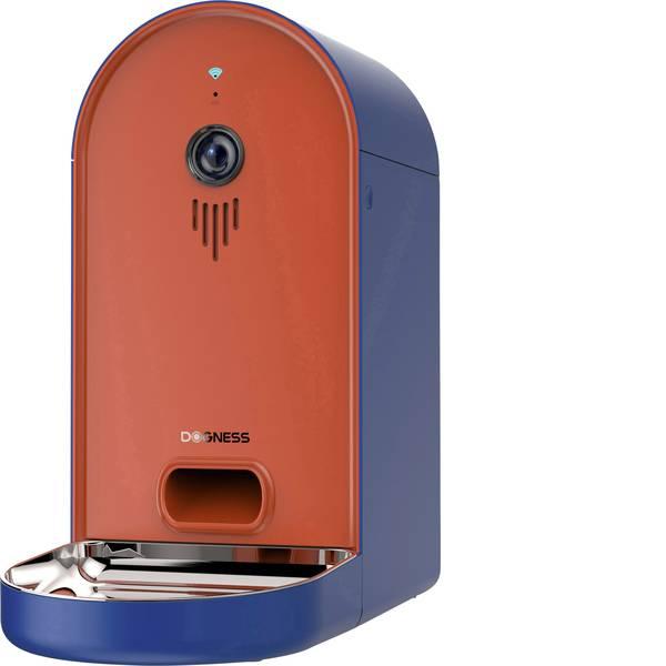 Prodotti per animali domestici - Ciotola automatica per cibo Dogness Smart-Cam-Feeder Arancione, Blu 1 pz. -