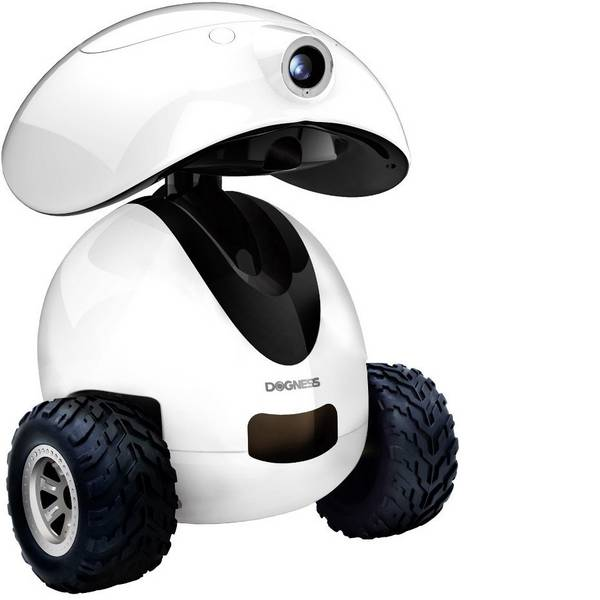 Prodotti per animali domestici - Robot per animali domestici Dogness Smart-Ipet-Robot Bianco/Nero 1 pz. -