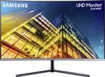 Il monitor curvo Samsung UHD U32R59 4CWU