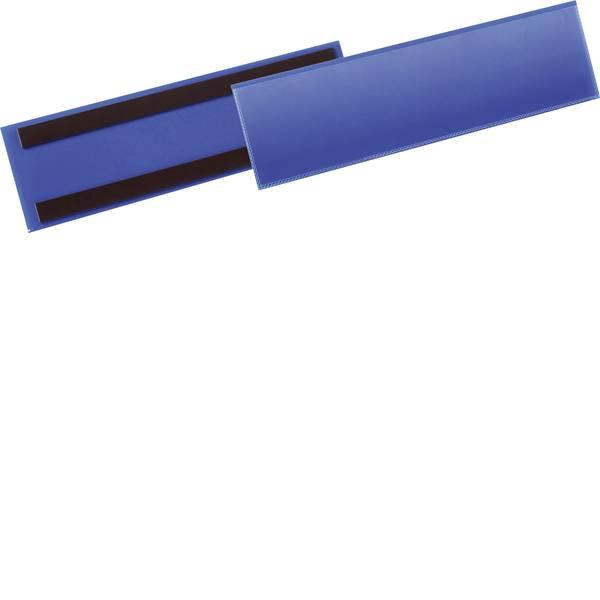 Etichette per cestini - Tasca magnetica per identificazione (L x A) 311 mm x 81.5 mm 50 pz. -