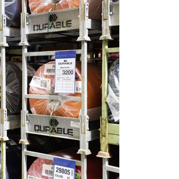 Etichette per cestini - Tasca magnetica per identificazione (L x A) 223 mm x 368 mm 10 pz. -