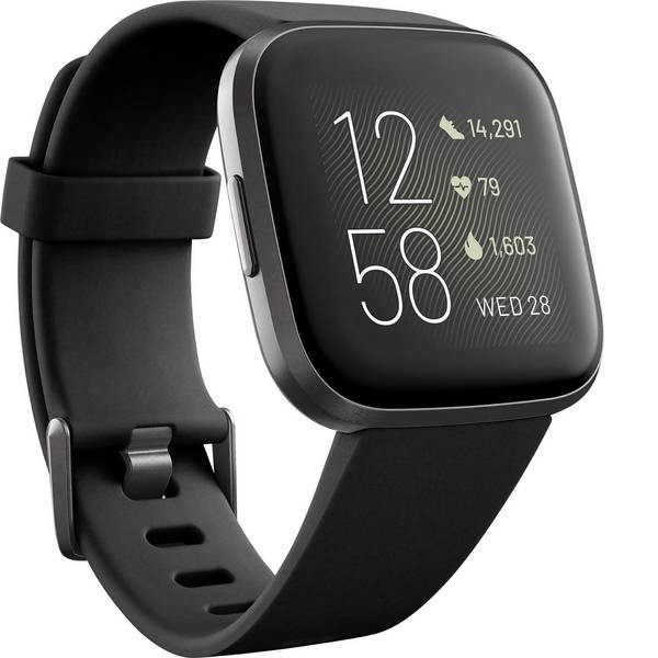 Dispositivi indossabili - FitBit Versa 2 Smartwatch Uni Nero -