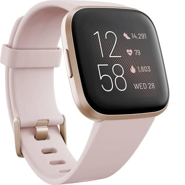 Dispositivi indossabili - FitBit Versa 2 Smartwatch Uni crema -