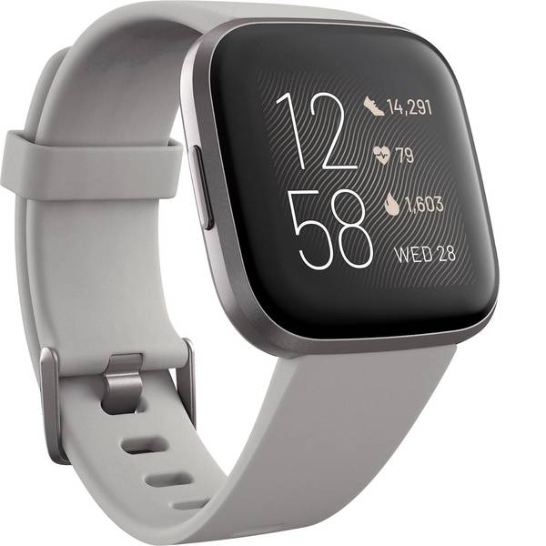 Dispositivi indossabili - FitBit Versa 2 Smartwatch Uni Grigio Pietra -