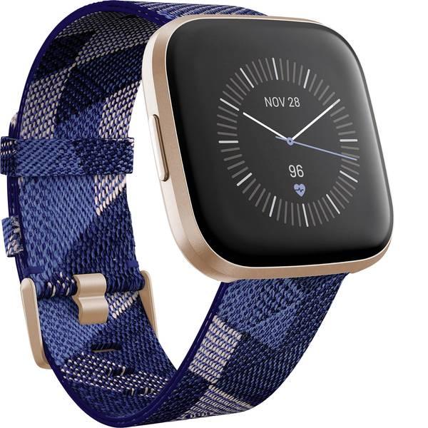 Dispositivi indossabili - FitBit Versa 2 SE Smartwatch Uni Blu, Rosa -
