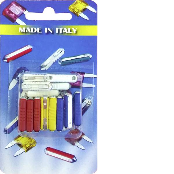 Fusibili per auto - Fusibile a nastro (Torpedo) 32 mA Bianco, Rosso, Giallo, Blu ESKA Blade-fuses 300.800 1 pz. -