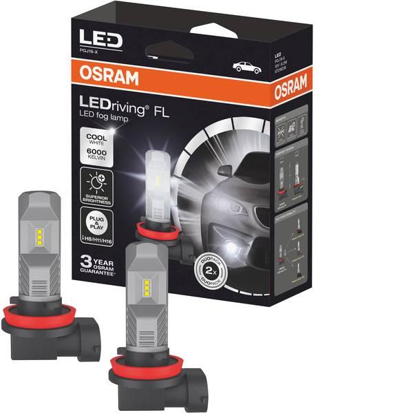 Lampadine per auto e camion - Osram Auto Lampadina LED H8, H16, H11 10 W -